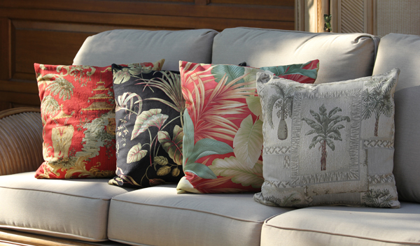 Hawaiian Pillows - Town and Country Event Rentals
