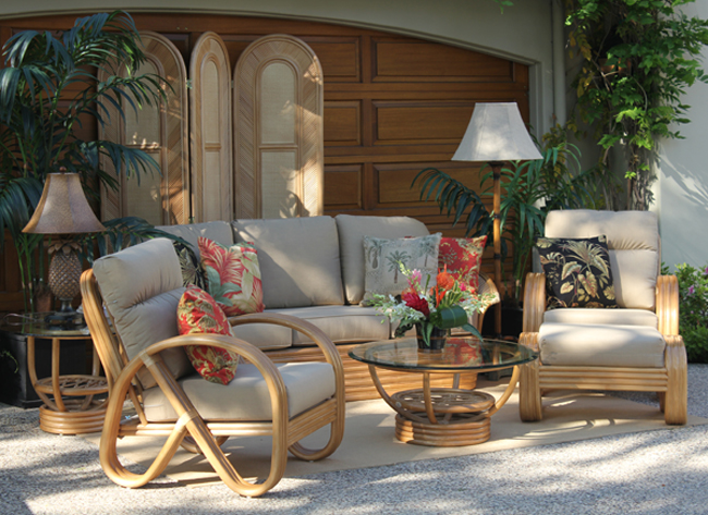 Lanai Furniture - Town and Country Event Rentals