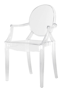 Louis Ghost Chair - Town & Country Event Rentals