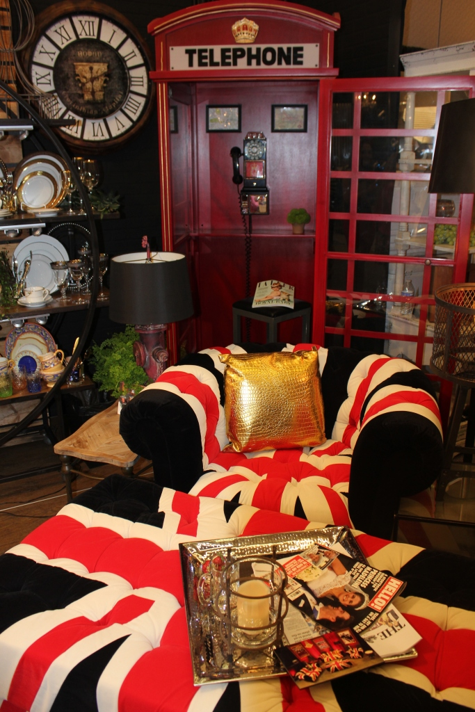 Union Jack Furniture  - Town & Country Event Rentals