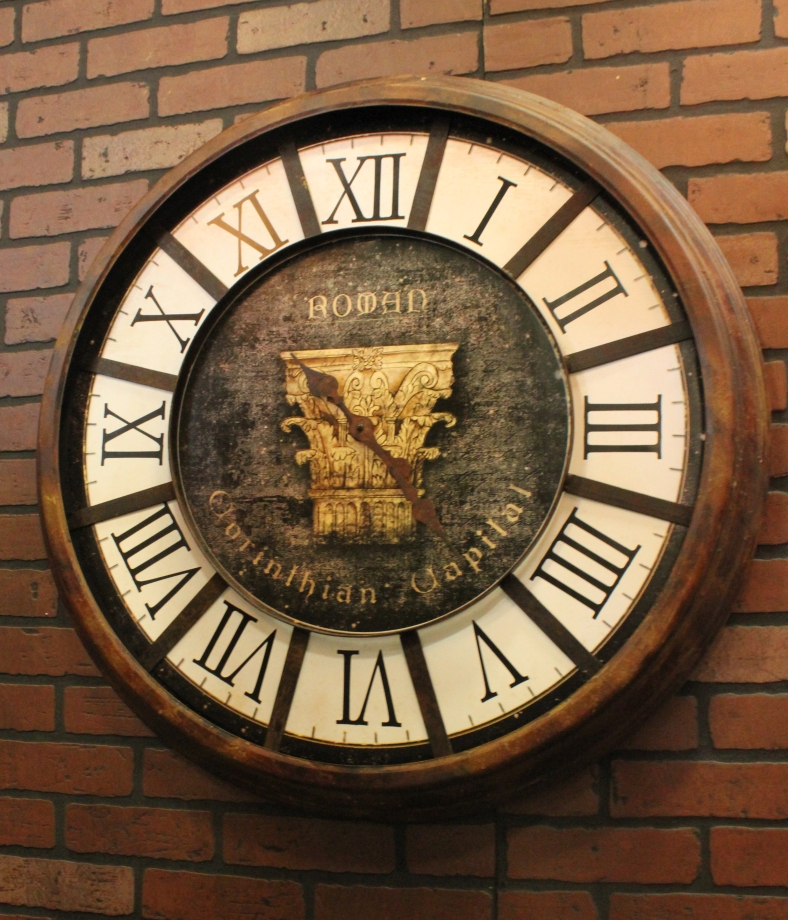 Edison Wall Clock