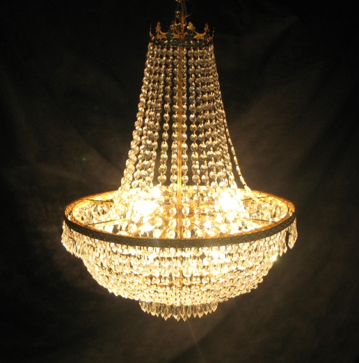 Town & Country Event Rentals - Empire Chandelier
