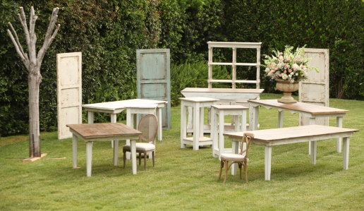 Town & Country Event Rentals - Vineyard Tables